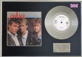 "A-HA - Take on Me -  7"" platinum single with cover"